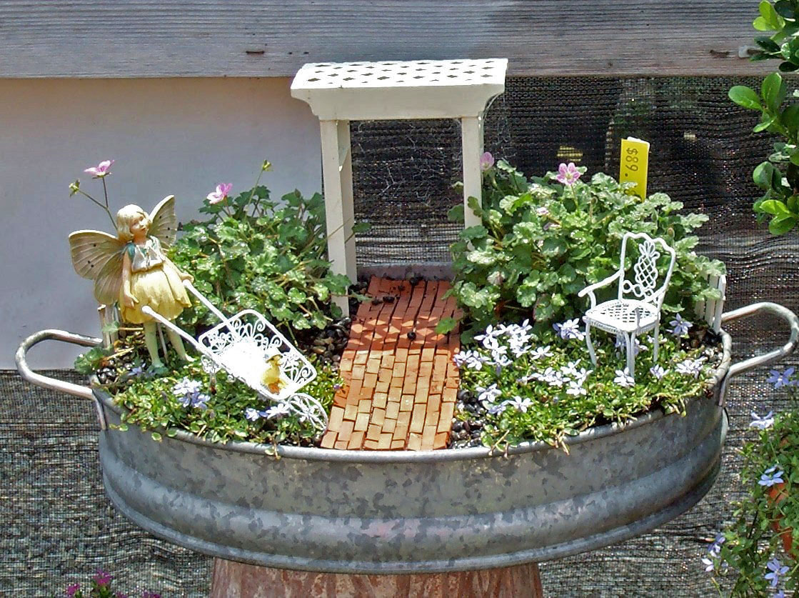 Fairy trains info for Fairy garden images